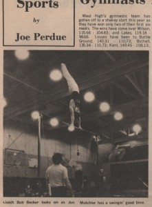 Jon Mutchler High Bar Bremerton c1977